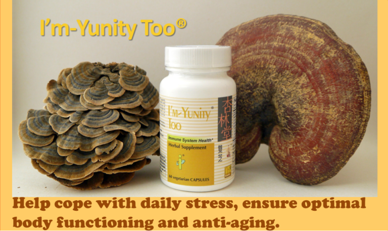 I'm-Yunity Too helps cope with daily stress, ensurie optimal body functioning and anti-aging.